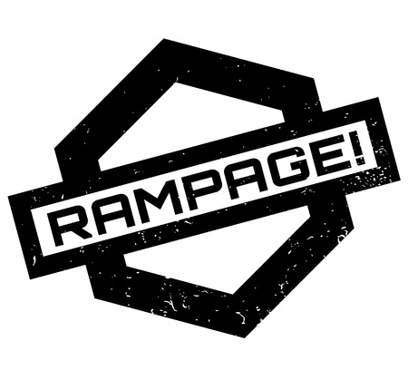rampage: Rampage rubber stamp