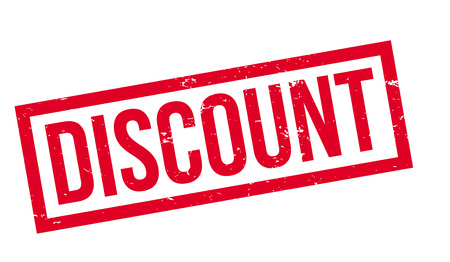 discounting: Discount rubber stamp. Grunge design with dust scratches. Effects can be easily removed for a clean, crisp look. Color is easily changed.