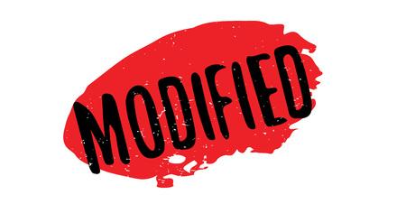 Modified rubber stamp Ilustração