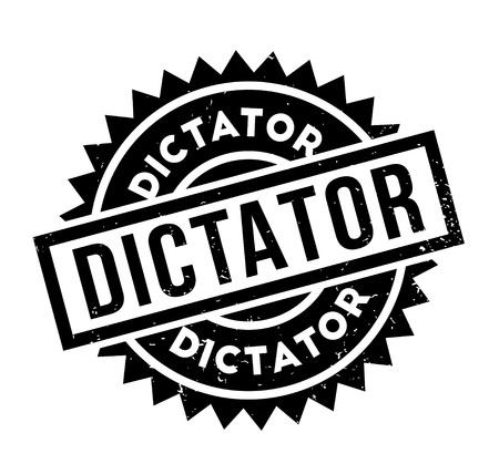 Timbro di gomma dittatore