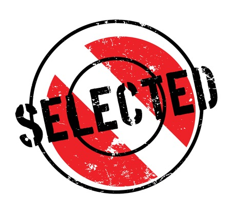 Selected rubber stamp