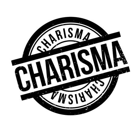 Charisma rubber stamp Illusztráció