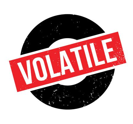 Volatile rubber stamp Illustration