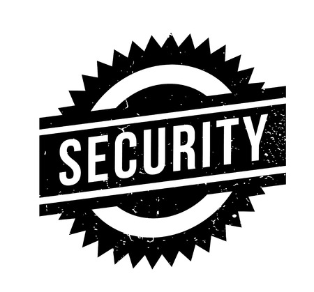 Security rubber stamp