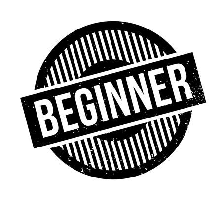 beginnings: Beginner rubber stamp