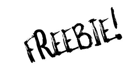 Freebie rubber stamp