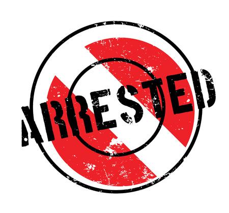 violación: Sello de caucho detenido