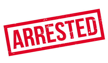 Arrested rubber stamp