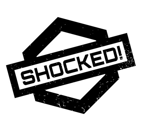 Shocked rubber stamp