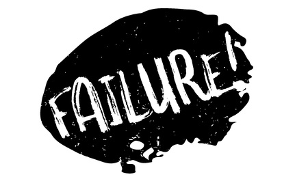 Failure rubber stamp. Grunge design with dust scratches. Effects can be easily removed for a clean, crisp look. Color is easily changed. Stock Photo - 84676452