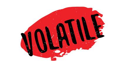 Volatile rubber stamp Ilustrace