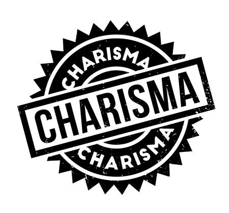 Charisma rubber stamp Illustration