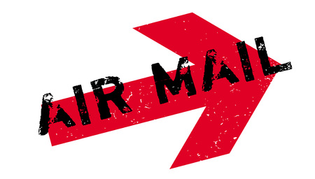 Air Mail rubber stamp