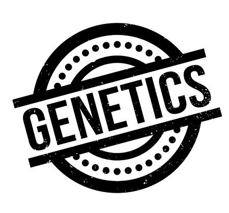 Genetics rubber stamp