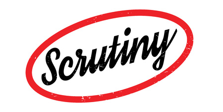Scrutiny rubber stamp