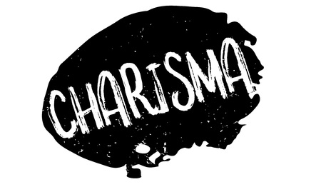 charisma: Charisma rubber stamp Illustration