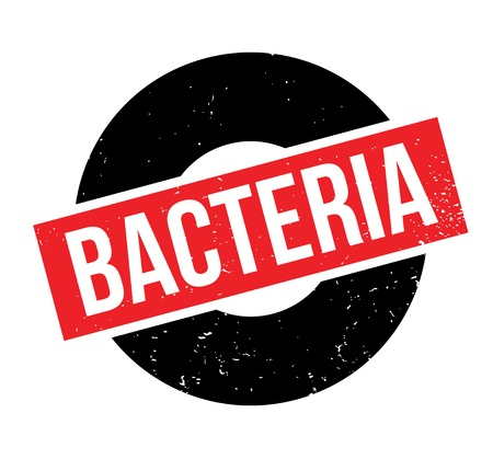 Bacteria rubber stamp