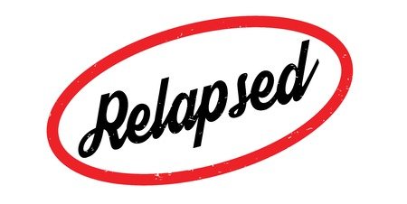 Relapsed rubber stamp