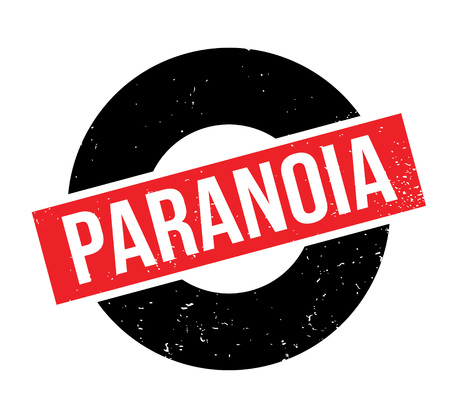 Paranoia rubber stamp