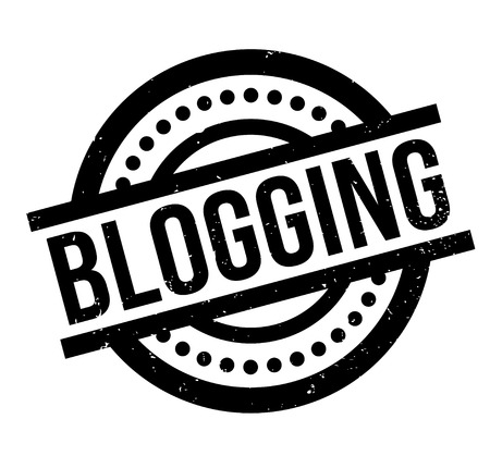 updated: Blogging rubber stamp