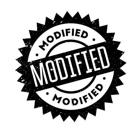 Modified rubber stamp Illusztráció