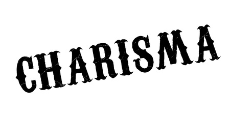 charisma: Charisma rubber stamp Stock Photo