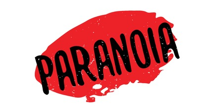 madness: Paranoia rubber stamp