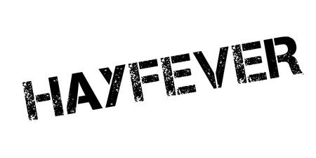hayfever: Hayfever rubber stamp Illustration