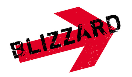 gale: Blizzard rubber stamp