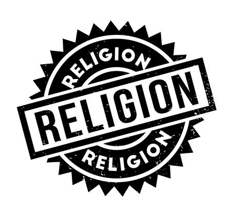 Religion rubber stamp