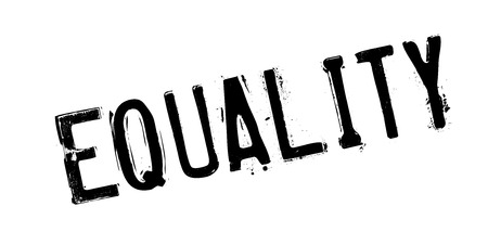 discriminate: Equality rubber stamp