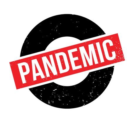 Pandemische rubberzegel