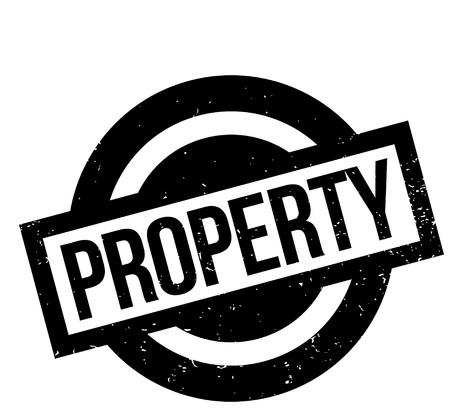 ownership equity: Property rubber stamp. Grunge design with dust scratches. Effects can be easily removed for a clean, crisp look. Color is easily changed.
