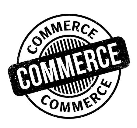 retailing: Commerce rubber stamp