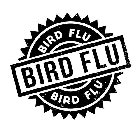 Bird Flu rubber stamp