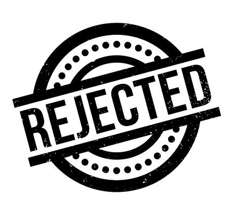 Rejected rubber stamp Illustration