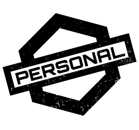 Personal rubber stamp Illustration