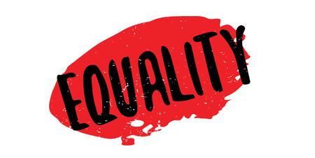 equal opportunity: Equality rubber stamp