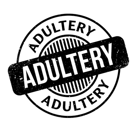 adultery: Adultery rubber stamp