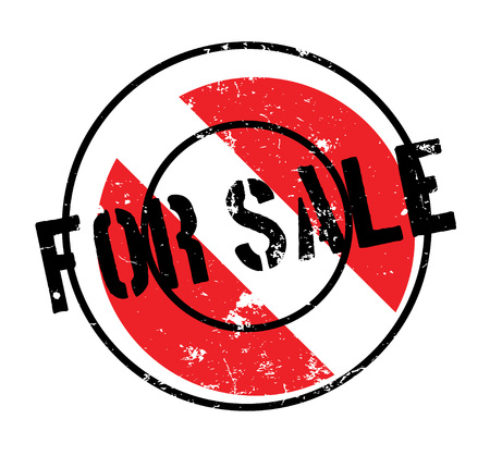 For Sale rubber stamp