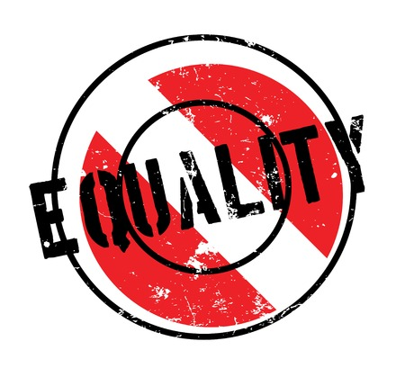 equal opportunity: Equality rubber stamp. Grunge design with dust scratches. Effects can be easily removed for a clean, crisp look. Color is easily changed.