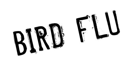 Bird Flu rubber stamp. Grunge design with dust scratches. Effects can be easily removed for a clean, crisp look. Color is easily changed. Illustration