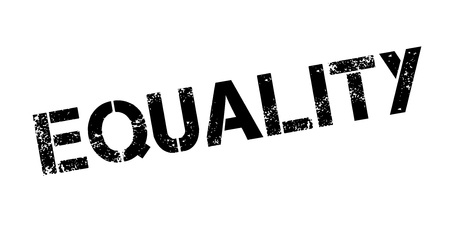 discriminate: Equality rubber stamp. Grunge design with dust scratches. Effects can be easily removed for a clean, crisp look. Color is easily changed.