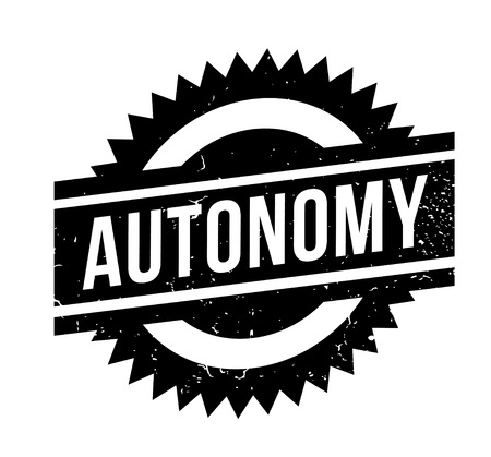 Autonomy rubber stamp