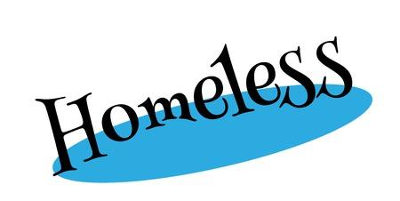 Obdachloser Stempel