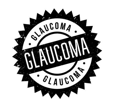 Glaucoma rubber stamp Zdjęcie Seryjne - 84821432