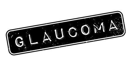 Glaucoma rubber stamp Zdjęcie Seryjne - 84821472