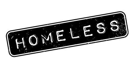 begging: Homeless rubber stamp. Grunge design with dust scratches. Effects can be easily removed for a clean, crisp look. Color is easily changed.