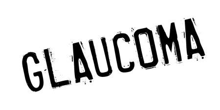 Glaucoma rubber stamp Zdjęcie Seryjne - 84821908
