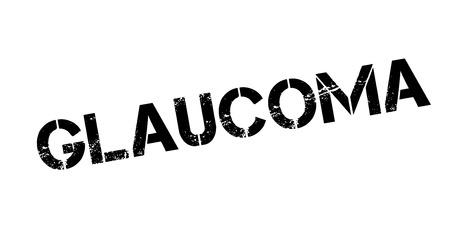 Glaucoma rubber stamp Zdjęcie Seryjne - 84821860